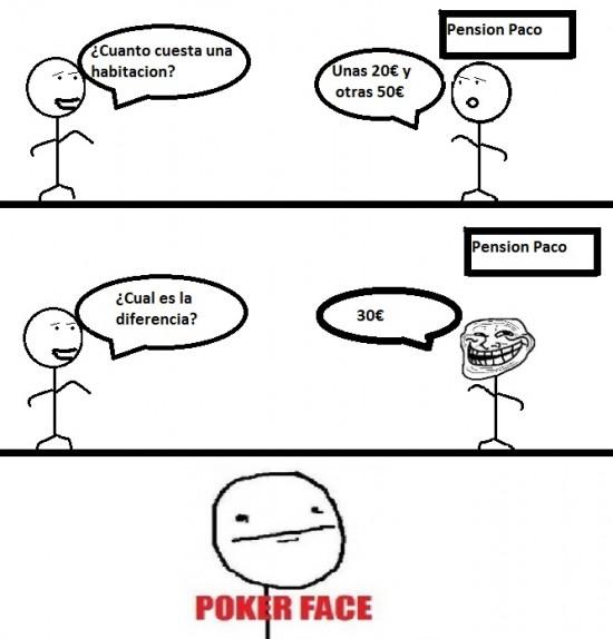 Pokerface - Duda existencial