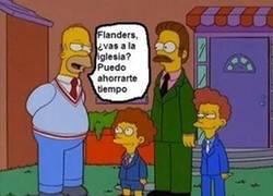 Enlace a Dios no existe, Homer Simpson lo ha comprobado