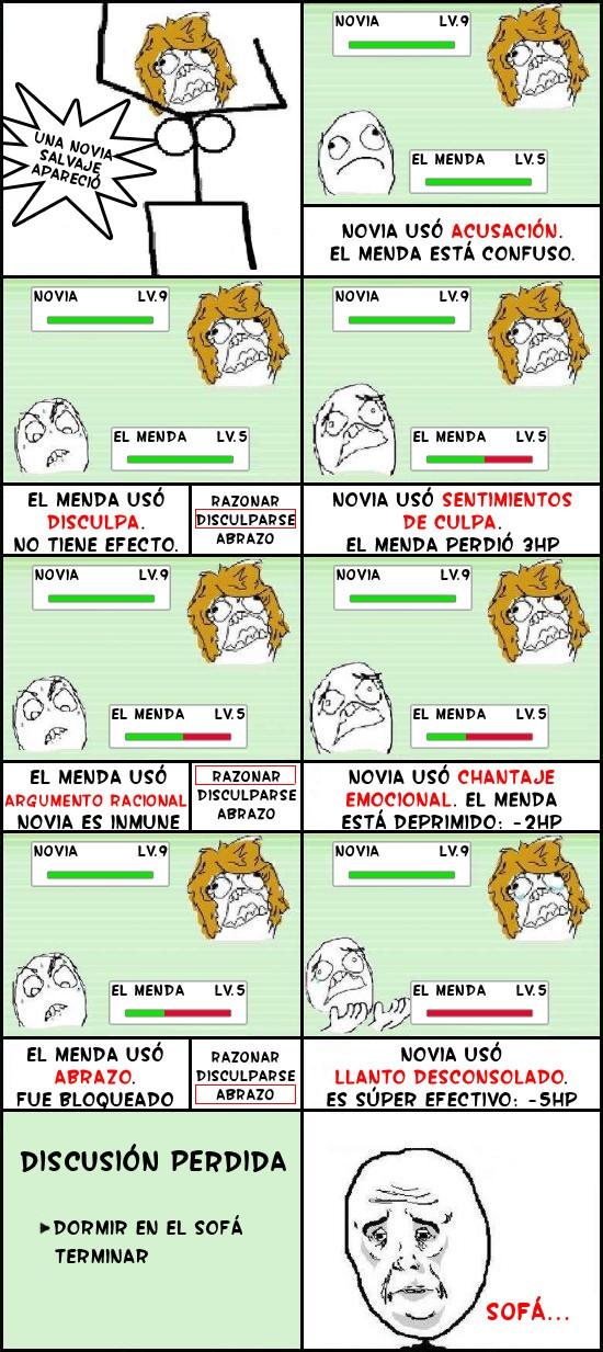 Okay - El Menda vs Novia