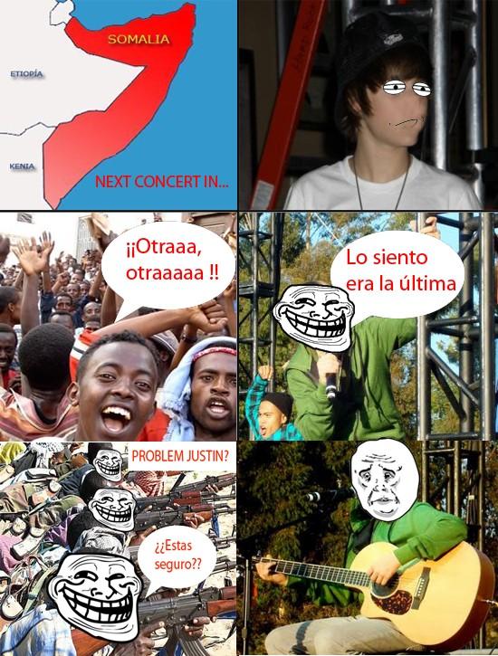 Mix - Justin en Somalia