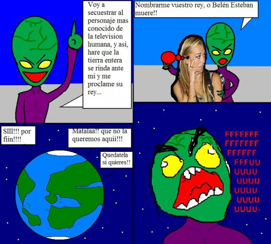 Ffffuuuuuuuuuu - Extraterrestre ingenuo