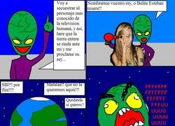 Enlace a Extraterrestre ingenuo