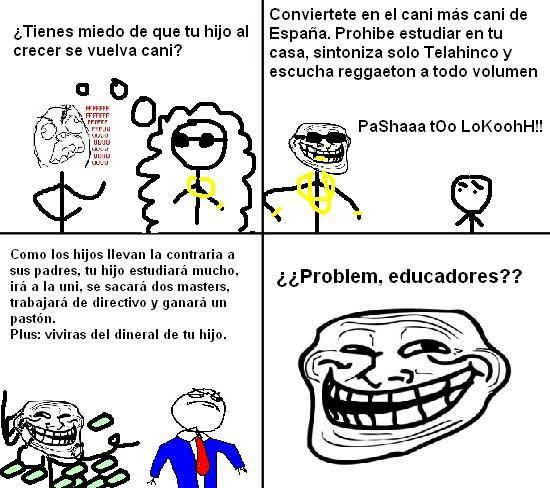 Trollface - Trolleando la educación
