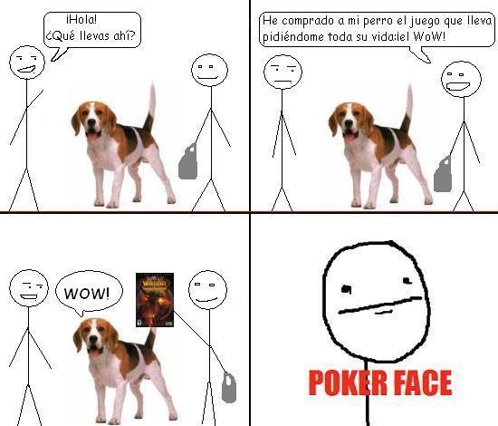 Pokerface - Juego de perros
