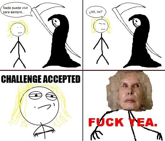 Challenge_accepted - Vida eterna