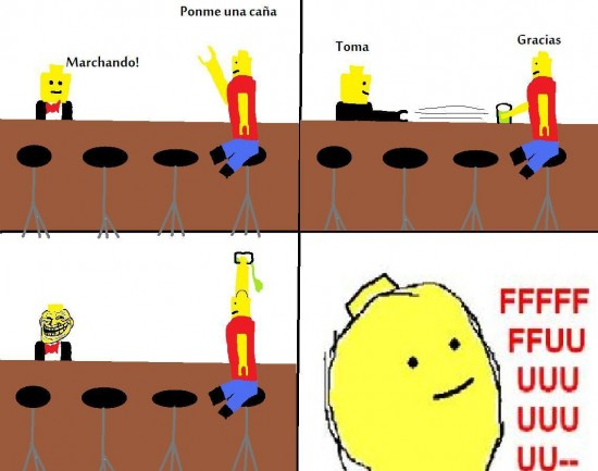 Ffffuuuuuuuuuu - Lego sin alcohol
