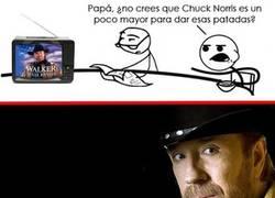 Enlace a Nunca subestimes a Chuck