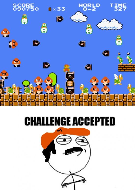 Challenge_accepted - Super Mario Challenge