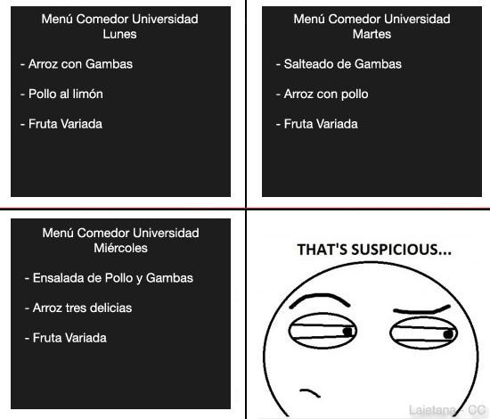 Thats_suspicious - El comedor de la Universidad