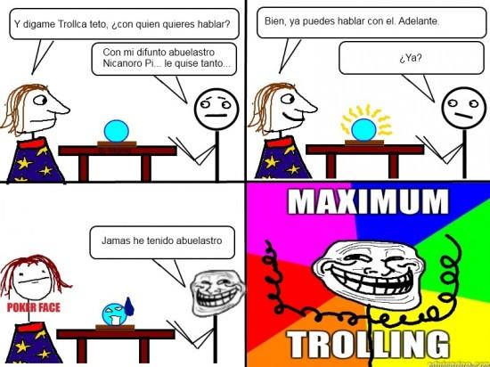 Trollface - Problem, pitonisas?