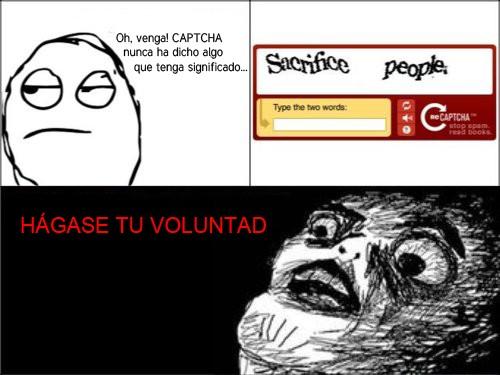 Inglip - Las órdenes de CAPTCHA