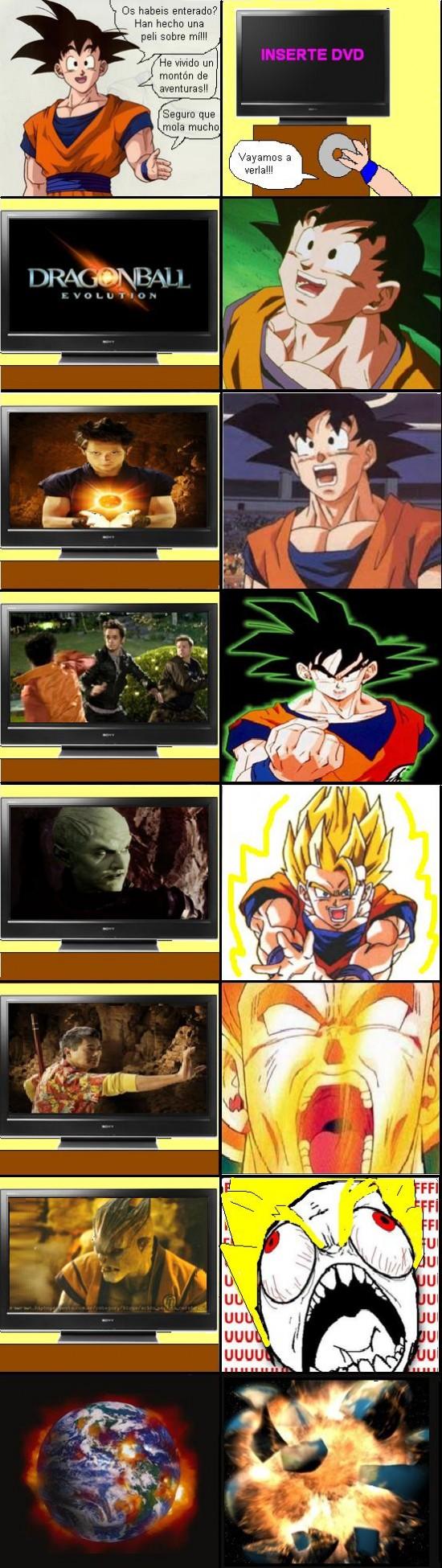 Ffffuuuuuuuuuu - Dragon Ball: la película