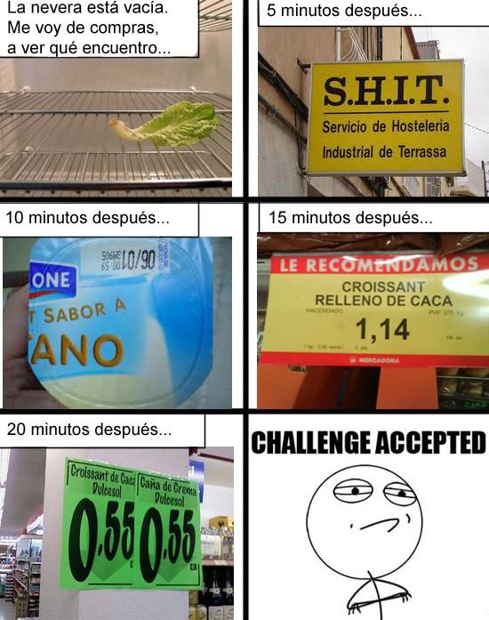 Challenge_accepted - La compra