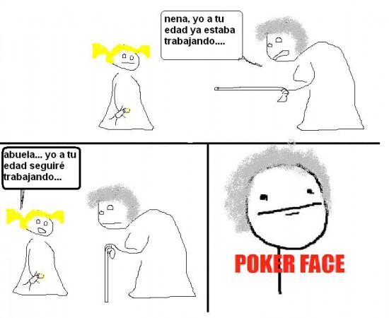 Pokerface - Todo cambia