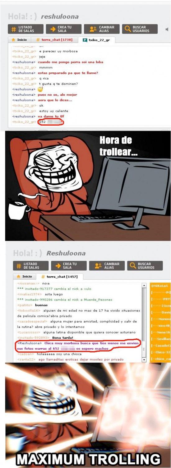 Trollface - Maximum Trolling en Terra chat