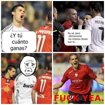futbol,Madrid,Osasuna,Pandiani,Ronaldo