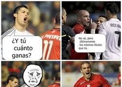Enlace a Pandiani vs Ronaldo