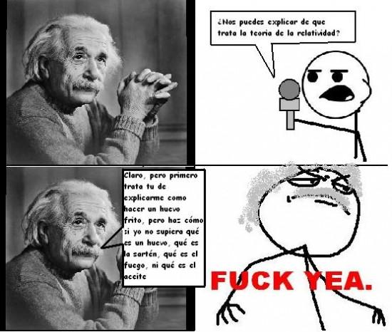 Fuck_yea - La teoria de la relatividad - Hechos reales