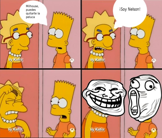 Trollface - ¡Soy Nelson!