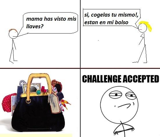 Challenge_accepted - El bolso de las madres