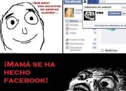 Enlace a ¡Mamá se ha hecho facebook!