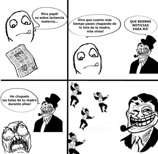 Trollface - Padre Troll