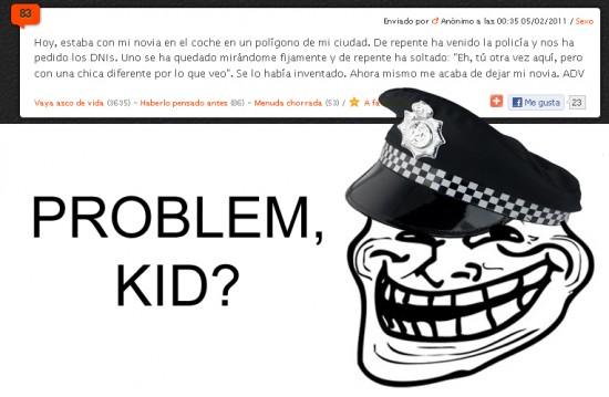 Trollface - Problem, kid?