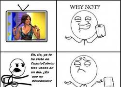 Enlace a Cereal Guy y Why Not?