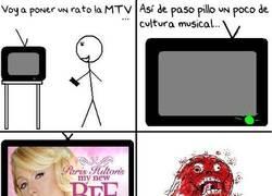 Enlace a La MTV y su programación