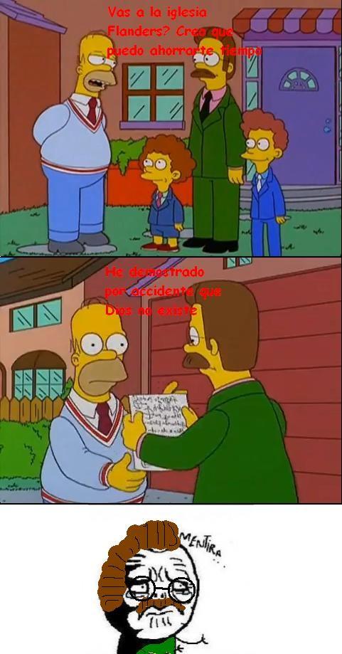Mentira - La verdadera reacción de Flanders