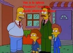 Enlace a La verdadera reacción de Flanders