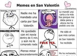 Enlace a Memes en San Valentín