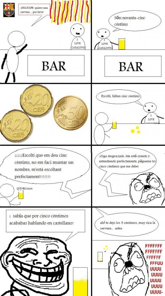 Ffffuuuuuuuuuu - En un bar catalán