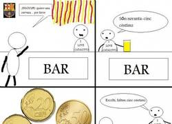 Enlace a En un bar catalán
