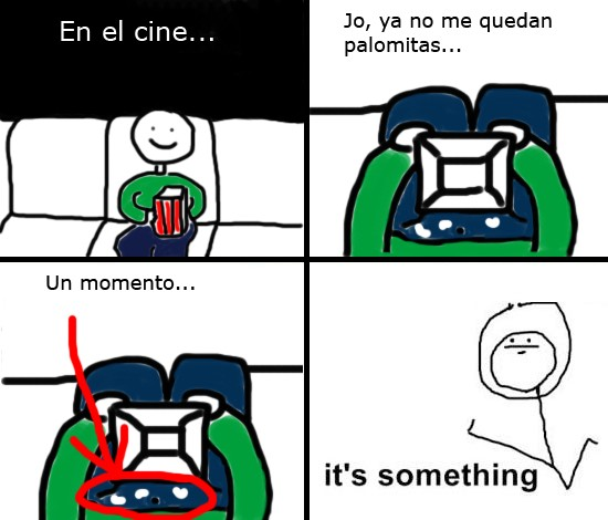 cine,it's something,palomitas