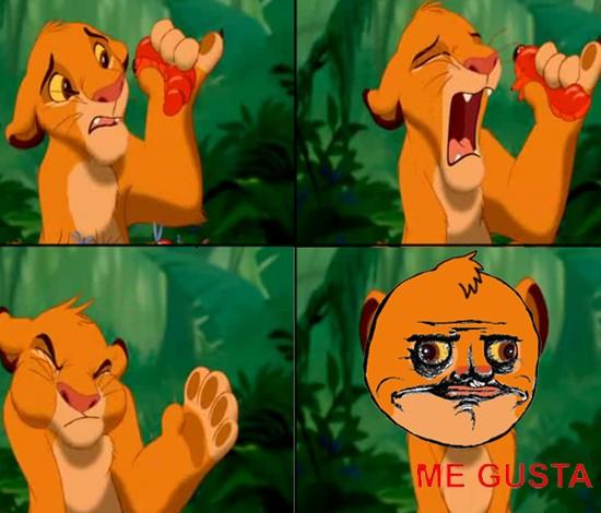Me_gusta - A Simba le gusta.