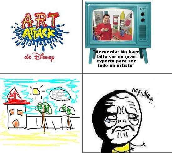 Mentira - Art Attack Fake