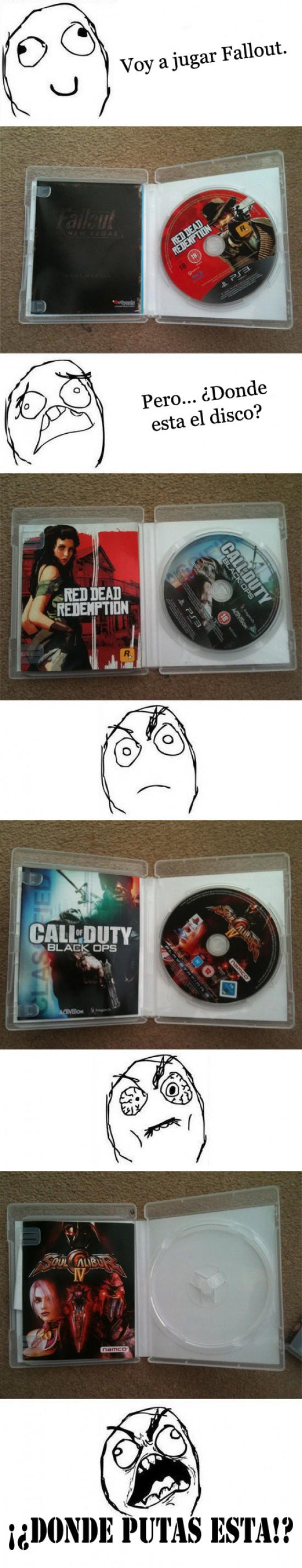 Ffffuuuuuuuuuu - A saber donde dejas los cds