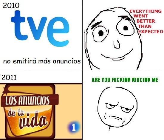Kidding_me - Los anuncios de TVE