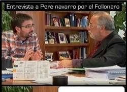 Enlace a Entrevista a Pere navarro