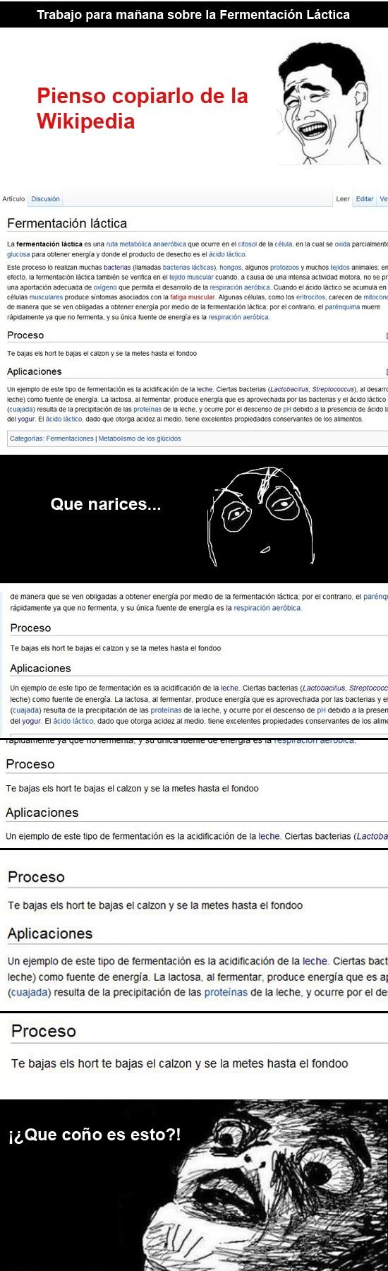 Inglip - Las ediciones de la Wikipedia