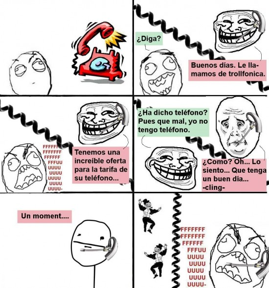 Trollface - The trolled troll