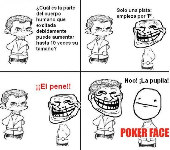 Pokerface - Mentes sucias