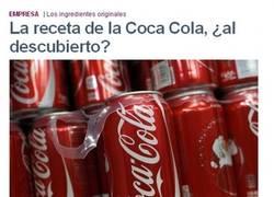 Enlace a Receta de la CocaCola