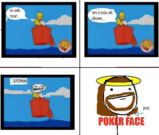 homer,poker face,troll