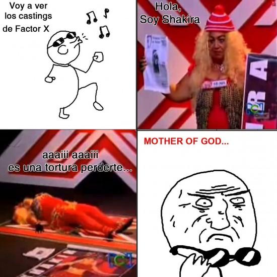 Mother_of_god - Shakira en Factor X