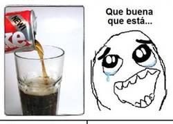 Enlace a Manchas de coca-cola