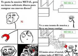 Enlace a Problem, Musica Metal?