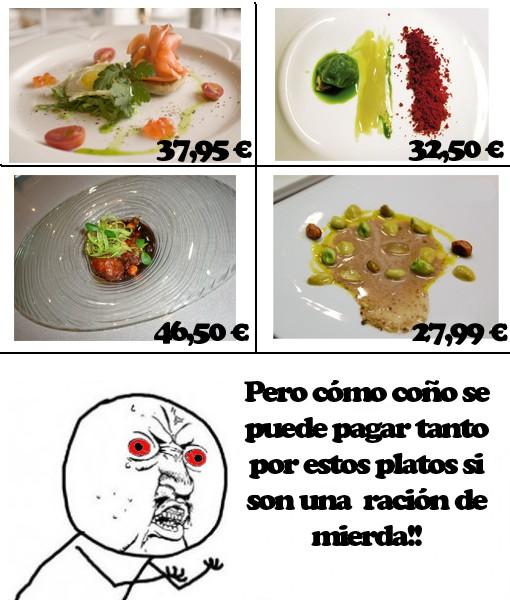 Platos,platos caros