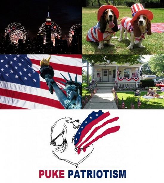 Puke_rainbows - Patriotismo exacerbado